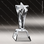 Crystal  Power Star Trophy Award CIP Crystal Trophy Awards