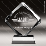Acrylic Clear Diamond Trophy Award Clear Acrylic Awards