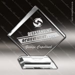 Acrylic Clear Diamond Standing Trophy Award Clear Acrylic Awards