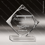 Acrylic Clear Multi-Cut Diamond Trophy Award Clear Acrylic Awards