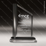 Acrylic Clear Frost Top Peak Presidential Trophy Award Clear Acrylic Awards