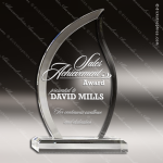 Acrylic Clear Flame Spirit Trophy Award Clear Acrylic Awards