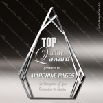 Acrylic Clear Multi-Cut Triangle Trophy Award Clear Acrylic Awards