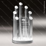 Acrylic  Clear Round Arena Trophy Award Clear Acrylic Awards