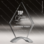 Acrylic  Clear Diamond Cosmic Stand Trophy Award Clear Acrylic Awards