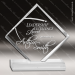 Acrylic  Clear Diamond Jewel Trophy Award Clear Acrylic Awards