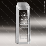 Acrylic  Clear Hexagon Tower Award Clear Acrylic Awards