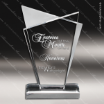 Acrylic  Clear Infinity Trophy Award Clear Acrylic Awards