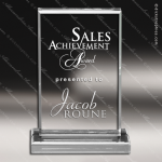 Acrylic  Clear Rectangle Billboard Trophy Award Clear Acrylic Awards