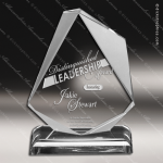 Acrylic  Clear Jewel Trophy Award Clear Acrylic Awards