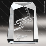 Acrylic  Clear Rectangle Trophy Award Clear Acrylic Awards