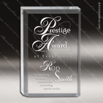 Acrylic  Clear Rectangle Canvas Trophy Award Clear Acrylic Awards