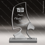 Acrylic  Clear Phantom Eagle Trophy Award Clear Acrylic Awards