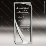 Acrylic  Clear Rectangle Tuscany Trophy Award Clear Acrylic Awards
