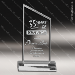 Acrylic  Clear Peak Trophy Award Clear Acrylic Awards