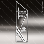 Crystal  Clear Summit Perceptions Trophy Award Clear Crystal Awards