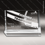Crystal  Corporate Plaques Stand Trophy Award Clear Crystal Awards