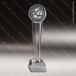 Crystal  Windsong Tower Trophy Award Clear Crystal Awards
