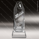 Crystal  Clear Refraction Trophy Award Clear Crystal Awards