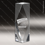 Crystal  Clear Obelisk Solana Tower Trophy Award Clear Crystal Awards