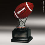 Resin Color Ball Pedestal Series Football Trophy Award Color Ball Pedestal Resin Trophy Awards
