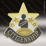 Lapel Pin - Citizenship Academic Metal Chenille Letter Insignia Color Lapel Chenille Pins