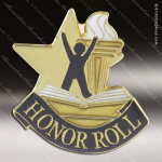 Lapel Pin - Honor Roll Academic Metal Chenille Letter Insignia Color Lapel Chenille Pins