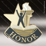 Lapel Pin - Honor Club Academic Metal Chenille Letter Insignia Color Lapel Chenille Pins