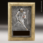 Resin Plaque Series Football Trophy Award Color Resin Plaque Trophy Awards