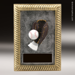 Resin Plaque Series Baseball/Softball Trophy Award Color Resin Plaque Trophy Awards