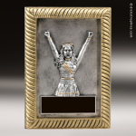 Resin Plaque Series Cheerleading Trophy Award Color Resin Plaque Trophy Awards