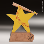 Resin Color Sports Star Series Softball Trophy Award Color Sports Star Resin Trophy Awards