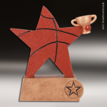 Resin Color Sports Star Series Basketball Trophy Award Color Sports Star Resin Trophy Awards