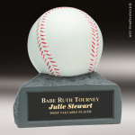 Resin Color Series Baseball Trophy Award Colored Resin Trophy Awards