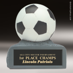 Resin Color Series Soccer Trophy Award Colored Resin Trophy Awards