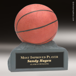 Resin Color Series Basketball Trophy Award Colored Resin Trophy Awards