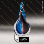 Magnetar Twist Colorful Artistic Trophy Awards