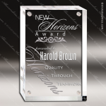 Acrylic  Clear Rectangle Magnetic Closure Trophy Award Corporate Acrylic Awards