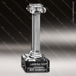 Crystal Clear Ionic Column Trophy Award Corporate Trophy Awards