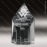 Crystal Clear Summit Trophy Award Corporate Trophy Awards