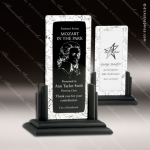 Artistic Black Radula Tuxedo Fusion Trophy Award Corporate Trophy Awards