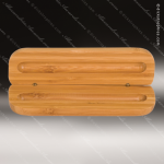 Engraved Wood Bamboo Pen Case Corporate Trophy Awards
