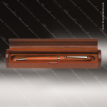 Engraved Wood Rosewood Pen Case Corporate Trophy Awards