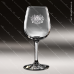 Crystal Taster's Etched Engraved Wine Glass Corporate Trophy Awards