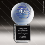 Artistic Glass Cahier Galileo Trophy Award Crystal Blanc Crystal Trophy Awards