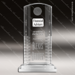 Crystal  Clear Arch Mythic Trophy Award Crystal Blanc Crystal Trophy Awards