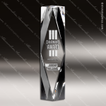Crystal  Clear Obelisk Prizma Trophy Award Crystal Blanc Crystal Trophy Awards