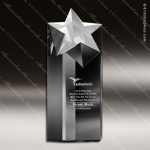 Crystal  Clear Rising Star Tower Trophy Award Crystal Blanc Crystal Trophy Awards