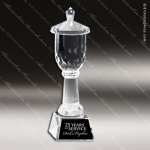 Crystal Cup Multi Faceted Trophy Award Crystal Cup Trophy Awards