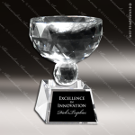 Crystal Cup Bowl Shape Trophy Award Crystal Cup Trophy Awards